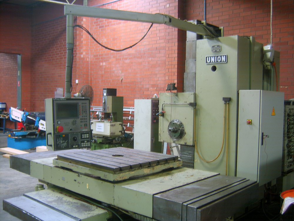 Wmw Union Horizontal Boring Mill For Sale Newmac Equipment